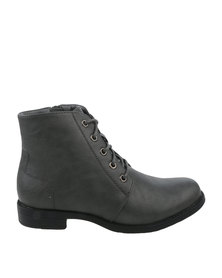 Utopia Combat Boot Grey