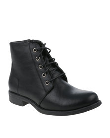 Utopia Combat Boot Black