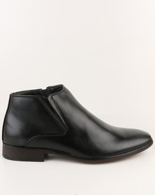 Utopia Formal Gusset Boot Black