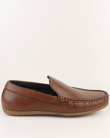 Utopia Formal Moccasin Tan