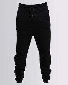 Utopia Fleece Basic Jogger Black