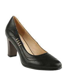 Utopia Basic Court Shoes Black