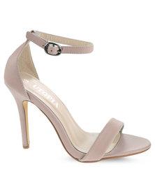 Utopia Plain Elegant Heels Pink