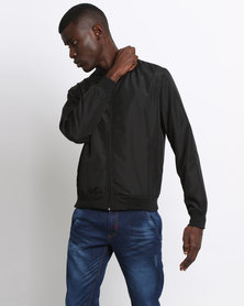 Utopia Bomber Jacket Black
