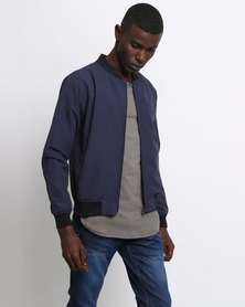 Utopia Bomber Jacket Navy