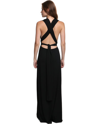 Black dress zando tekkies