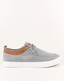 Utopia Casual Lace Up Grey