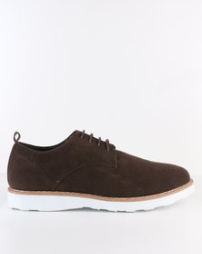 Utopia Casual Lace Up Brown