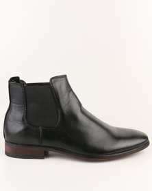 Utopia Formal Chelsea Boot Black