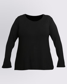 Utopia Plus Relaxed T-Shirt Black