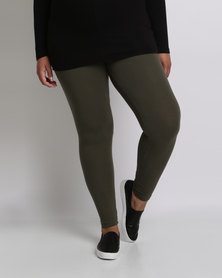 Utopia Plus Basic Leggings Olive