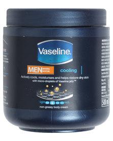 Vaseline For Men Cooling Replenish Body Cream