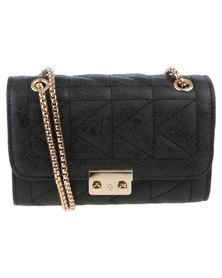 Vikson Ladies Elegant Crossbody Bag Black