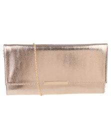 Vikson Ladies Fashion Clutch Bag Rose Gold