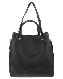 Vikson Ladies Shopper Bag Black