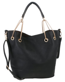 Vikson Ladies Handbag Black