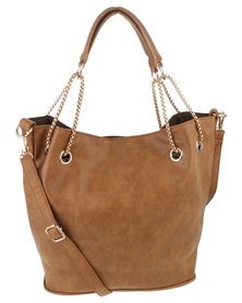 Vikson Ladies Handbag Tan