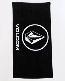 Volcom Rider Towel Black