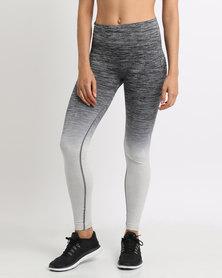 Von Scher Sports Ombre Tights Grey