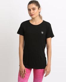 Von Scher Angel Wings T-shirt Black