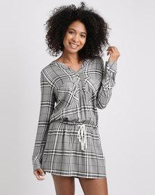 Women'secret Pyjama Dress Black
