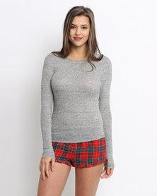 Women'secret Feminine Top Grey