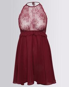 Women'secret Nightdress Red
