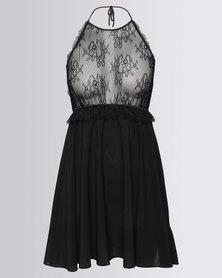 Women'secret Nightdress Black