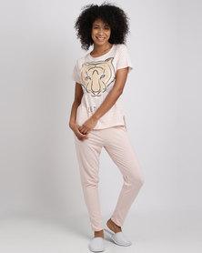 Women'secret Fun Pajamas Pink