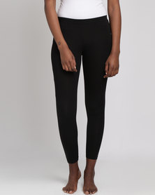 Women'secret Fashion Leggings Black