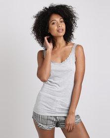 Women'secret Feminine Pajamas 2 Grey