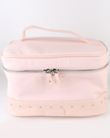 Women'secret Pink Rock Collection Vanity Case Nude