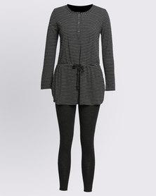 Women'secret Must Pajamas 2 Set Grey