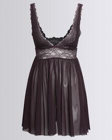 Women'secret Sense Nightdress Purple