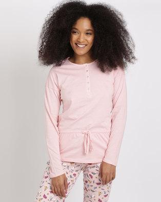Women'secret Cushion Top Pink