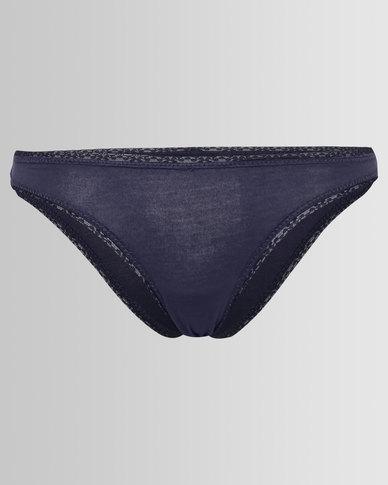 Women'secret Feminine Underwear 2 Marine Blue