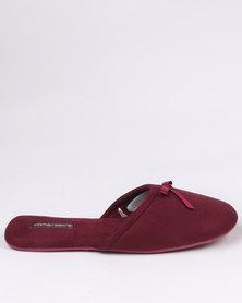 Women'secret Sneakers Collection Open Toe Slippers Black