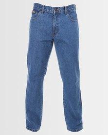 Wrangler Texas Jeans  Double Stonewash