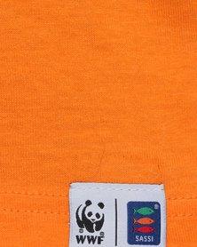 WWF SASSI Unisex Protect  T-Shirt Orange
