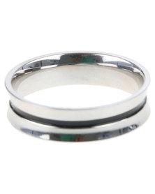 Xcalibur Mens Fashion Ring Silver-Tone