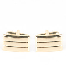 Xcalibur Rectangle Cufflinks Gold-tone