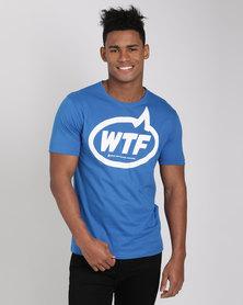 Xplicit Stretford T-Shirt Blue