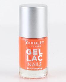 Yardley Gel Lac Nail Polish Fiery Tangerine