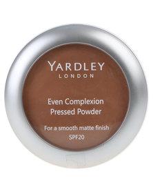 Yardley Even Complexion Pressed Powder Mahogany