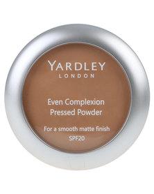 Yardley Even Complexion Pressed Powder Caramelised