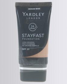 Yardley Foundation Stay Fast Medium Beige