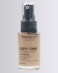 Yardley Foundation Defy Time True Beige