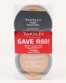 Yardley Pressed Powder Refill Combo Honey SAVE R60