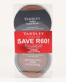 Yardley Pressed Powder Refill Combo Mahogany SAVE R60