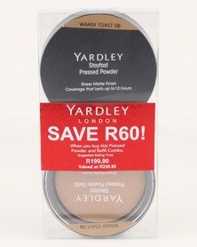 Yardley Pressed Powder Refill Combo Warm Toast SAVE R60